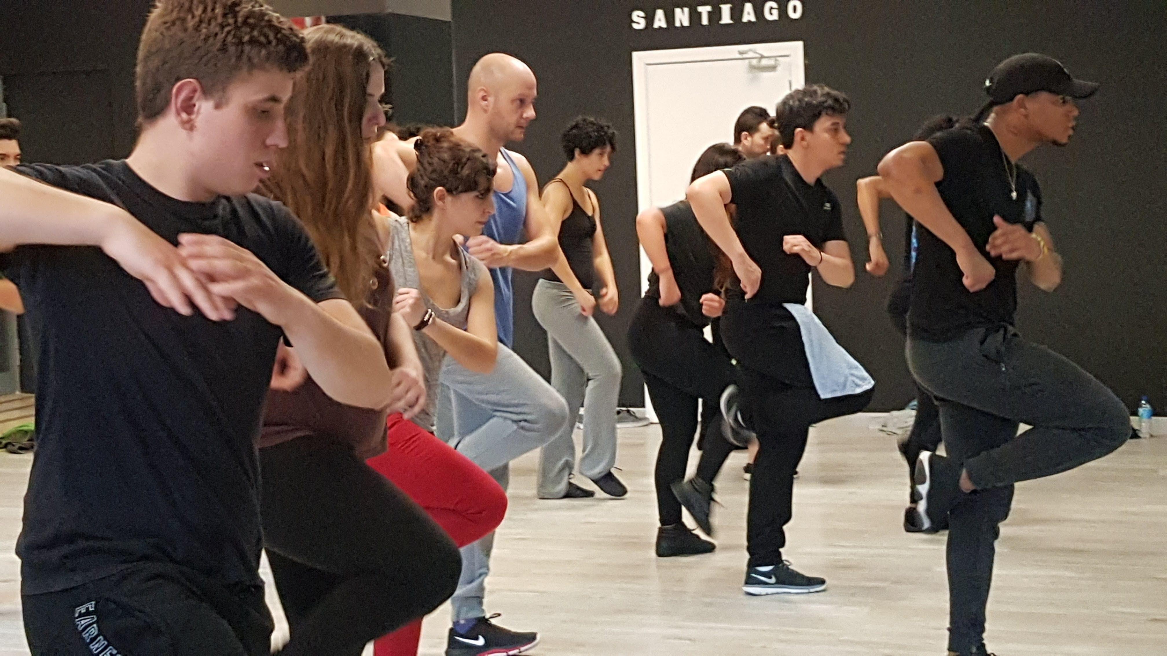 Como bailar Shuffle | Pasos BÁSICOS - YouTube | baile en ...