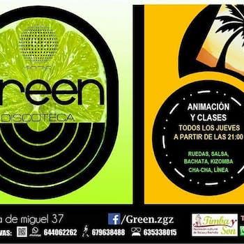 Green discoteck