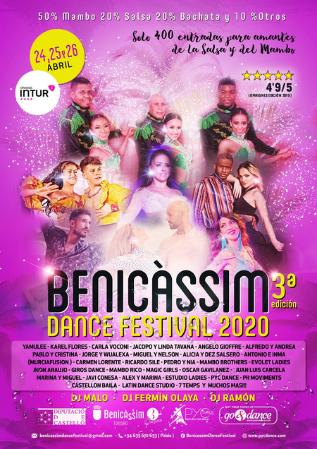 What is the Benicassim Dance Festival?